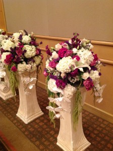 wedding ceremony flowers 02