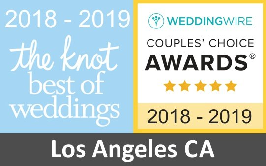 wedding florist los angeles award