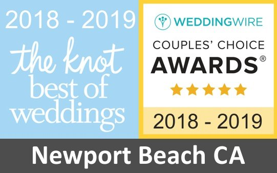 wedding florist newport beach award