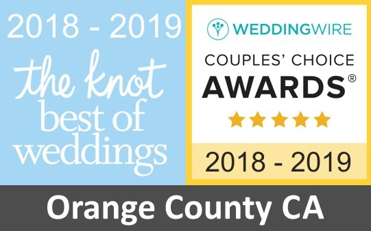 wedding florist orange county award