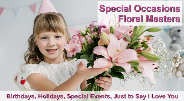 flowers for every occasion Irvine