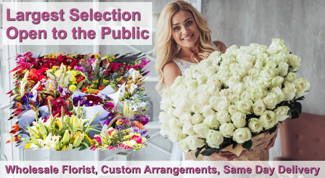 wholesale florist open to public orange county