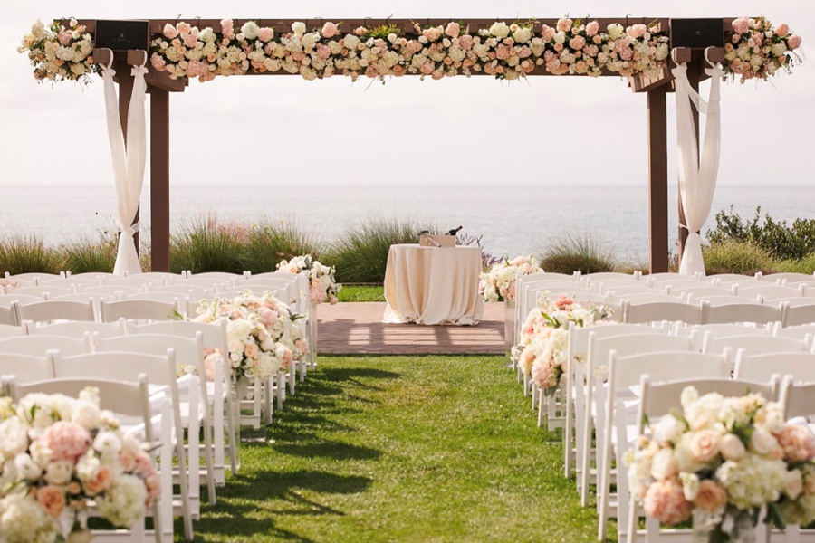 ceremony flowers orange county