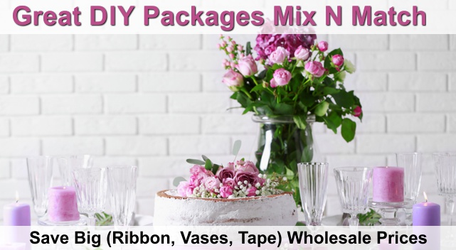 diy wholesale wedding package oc