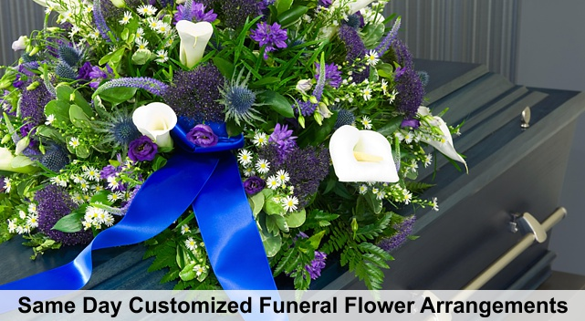 funeral flower delivery newport beach