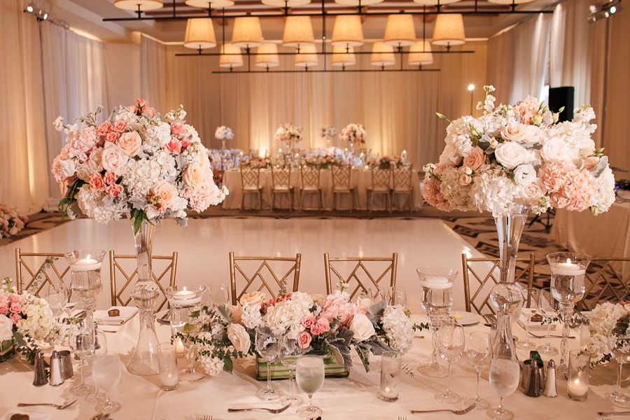 wedding centerpieces newport beach
